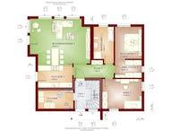 solution 204 v11 von living haus by bien zenker cubus haus flachdach. Black Bedroom Furniture Sets. Home Design Ideas