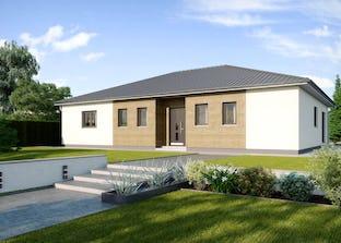 bungalow s141 von vario haus walmdach. Black Bedroom Furniture Sets. Home Design Ideas